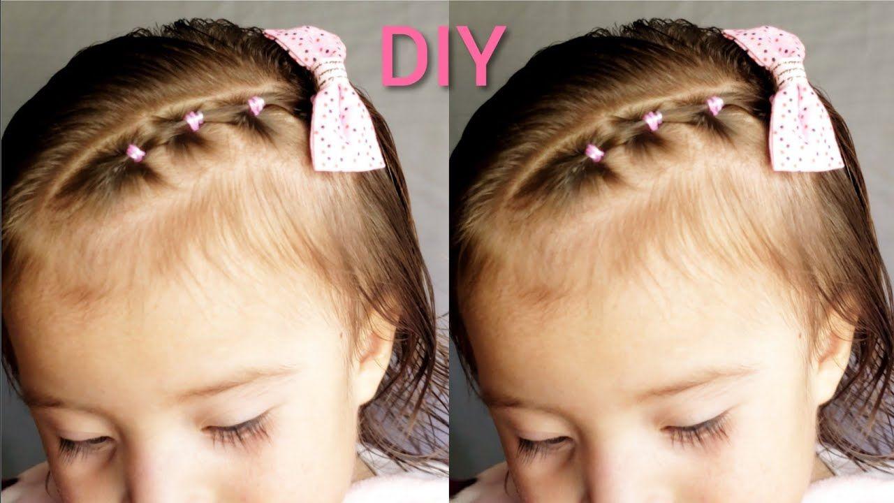 Diversión y halagos peinados bebe Imagen de ideas de color de pelo - Faciles Peinados Para Bebes Con Ligas Cabello Corto ...