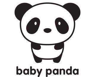 Baby Panda Logo | Pandas, Baby pandas and Panda