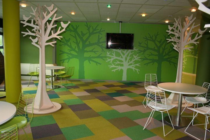 Lounge Area Next To Cafeteria Crocs Hoofddorp Netherlands