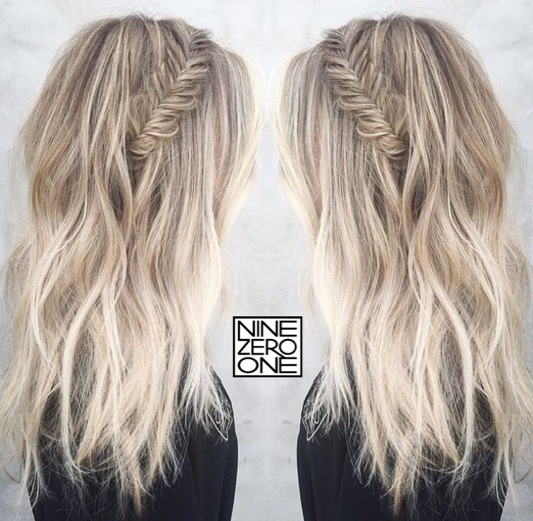 icy blonde and braids by 901artist morganparks901 blonde platinum sombre braids blonde. Black Bedroom Furniture Sets. Home Design Ideas