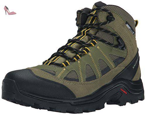 Salomon Authentic L CS WP Chaussures de Randonnée Bottes de randonnée Taille 422/3 - Chaussures salomon (*Partner-Link)