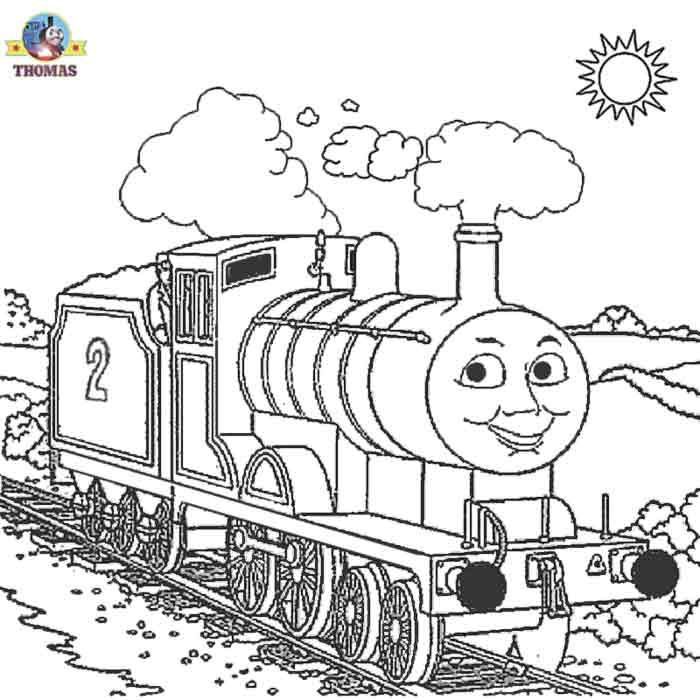 Thomas Coloring Pages For Kids Train Coloring Pages Coloring