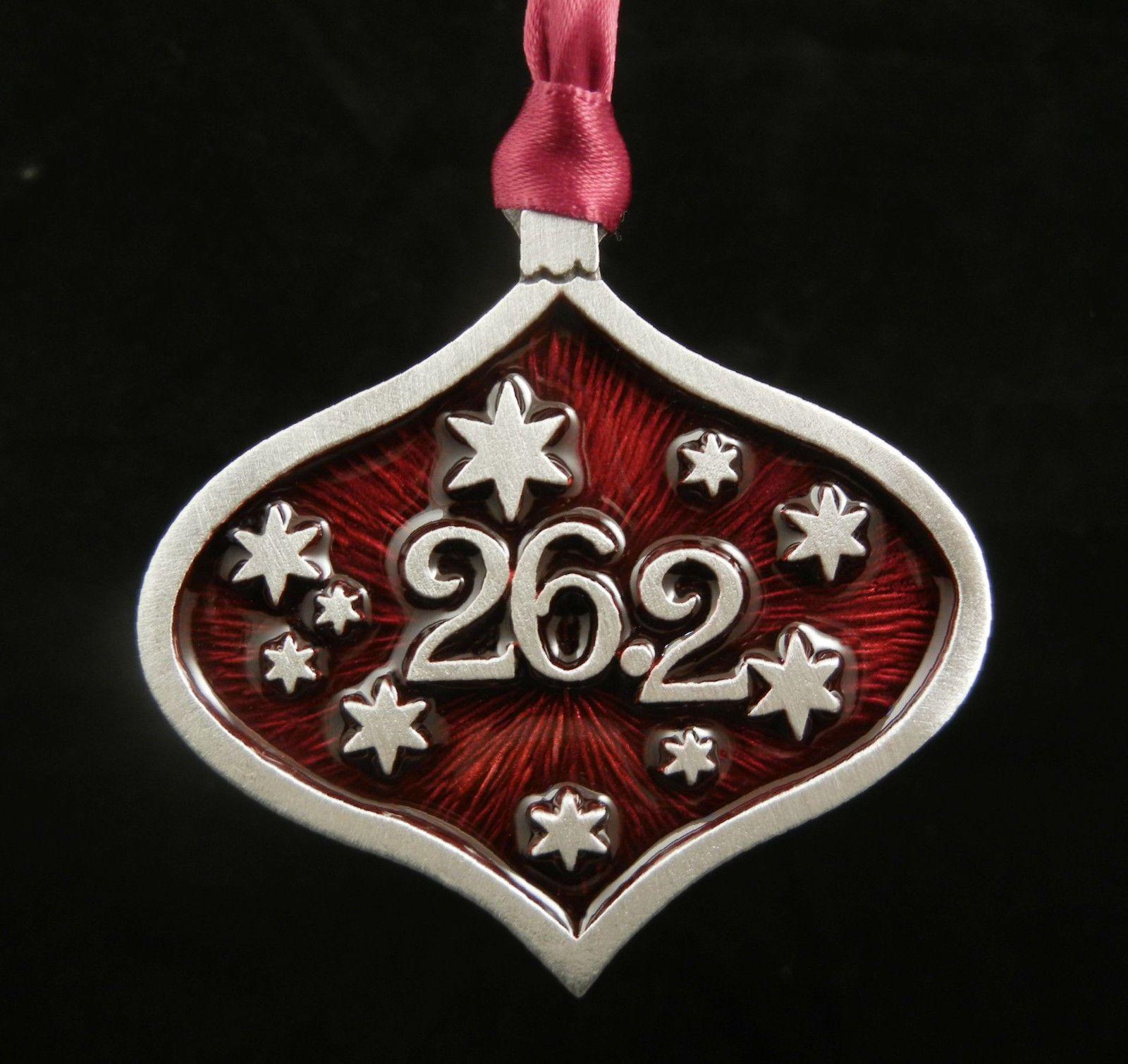 $14.98 - 26.2 Marathon Runner Christmas Ornament In Fine ...