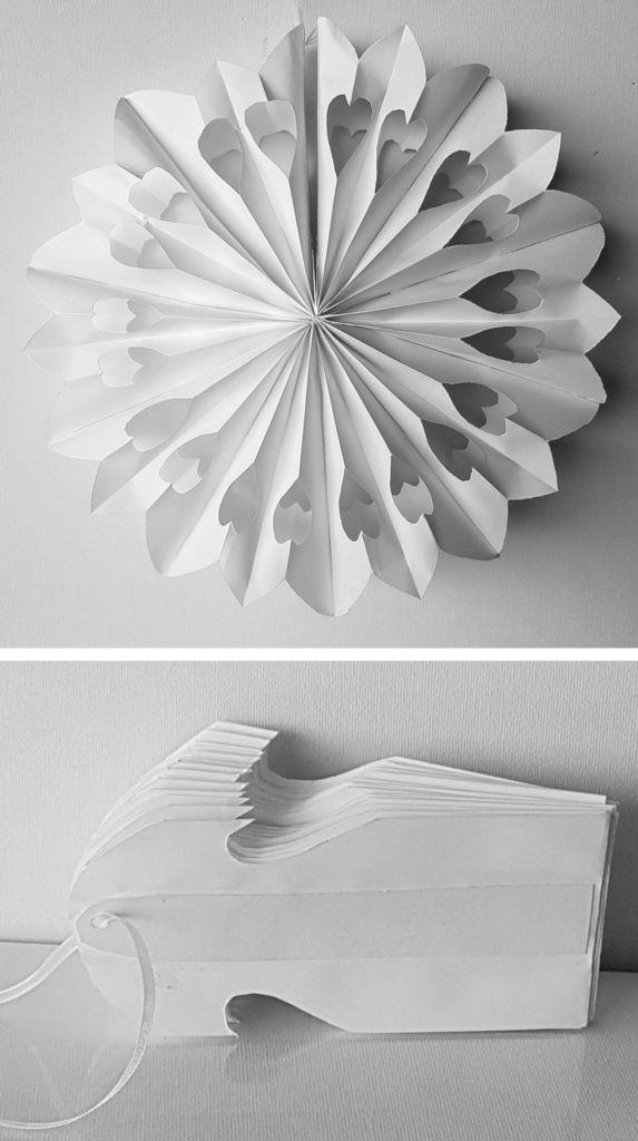 Die Tüten Hergestellt Aus Dina4 Kopierpapier 80gm Mit