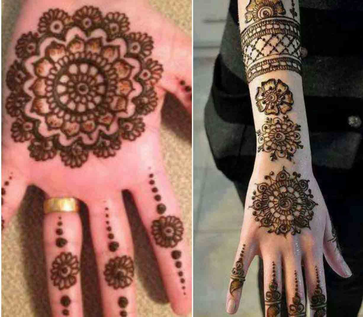 Front Hand Mehndi Designs 2019 Tikki