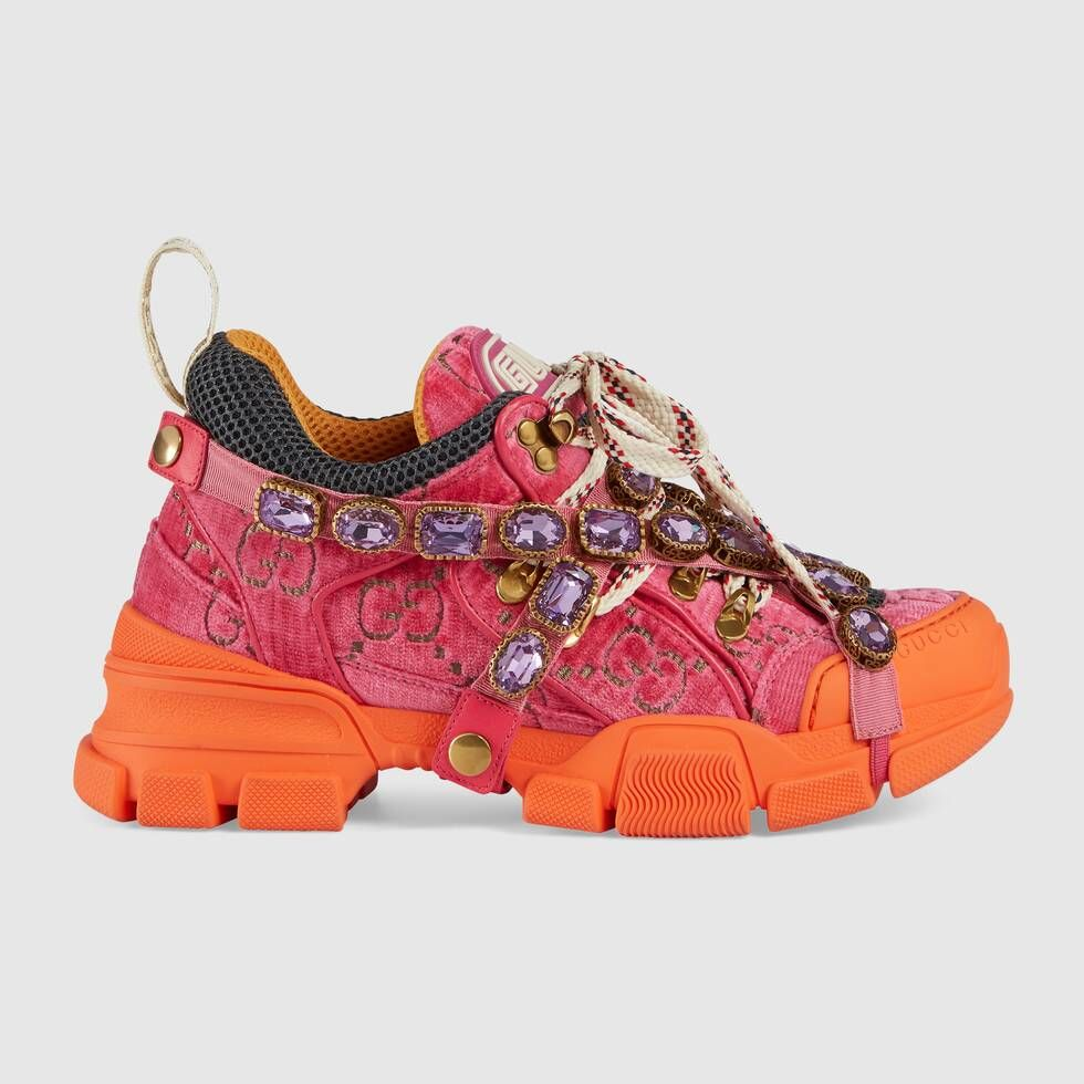 gucci tennis shoes pink