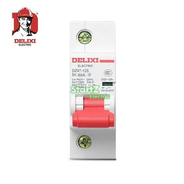 80a 1p C Curvers 10ka Miniature Circuit Breaker Dz47s Delixi Mcb Usb Flash Drive Flash Drive Usb