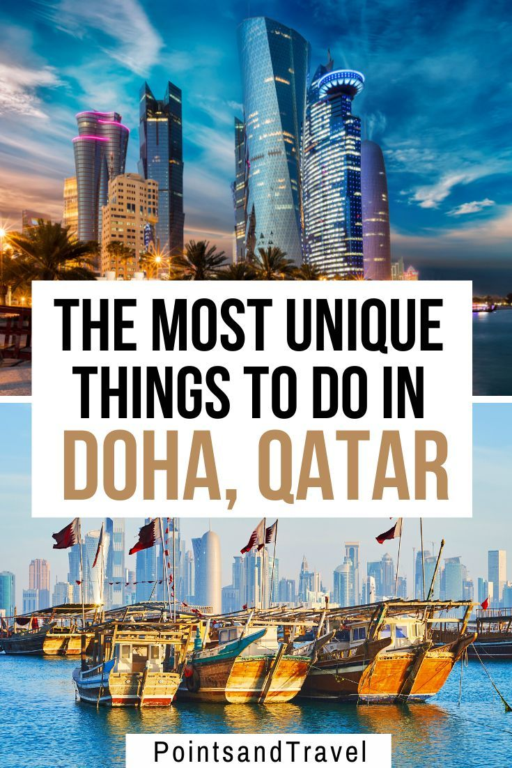 The Most Unique Things to do in Doha, Qatar. Take a look at the most epic and fun things to do when you visit Qatar and take a Doha city tour. You can get a good feel for Doha in a weekend with this itinerary. #qatar #doha | What to do in Doha | Best things to do in Doha | Doha Itinerary | Qatar Travel Tips | Qatar Itinerary |