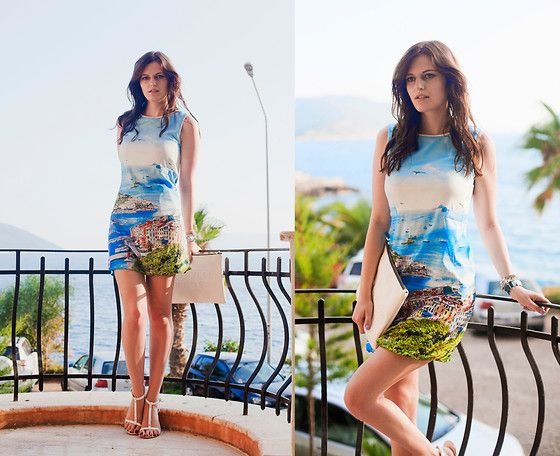 Viktoriya Sener - Dressgal Necklace, Chic Wish Maxi Skirt