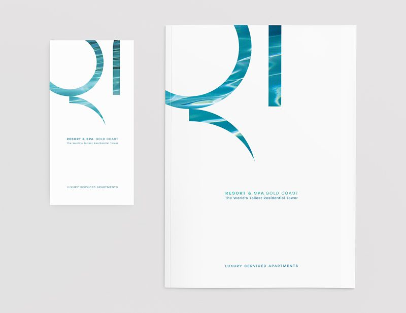 Q1 Resort \ Spa    brand identity, in-room collateral, stationery - sales presentation
