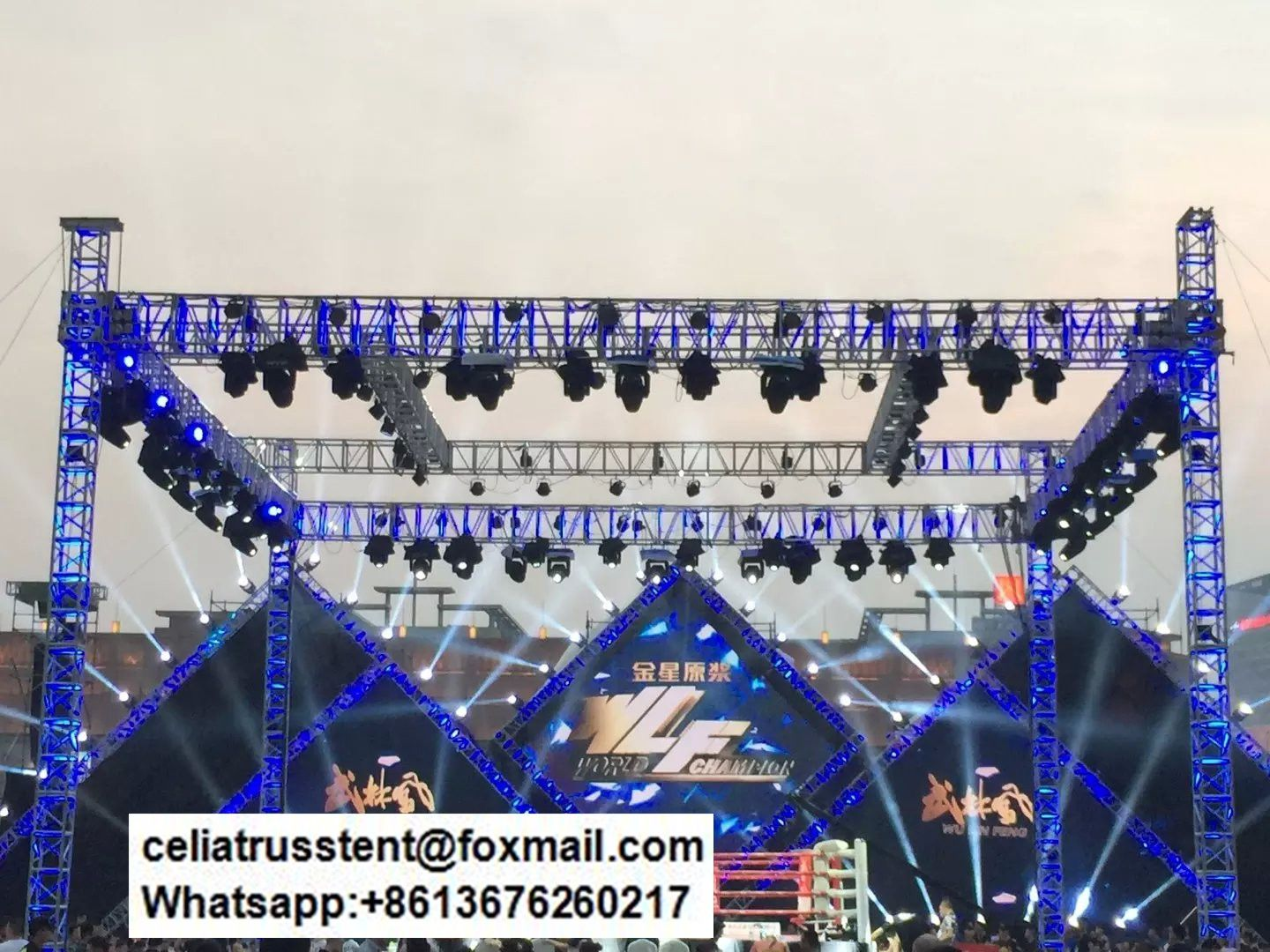 best price moving head light truss stands in different events truss