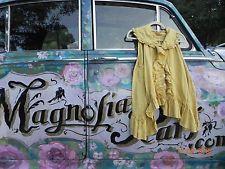 Magnolia Pearl Bee Pollen Linen Top Shirt   Art to Wear