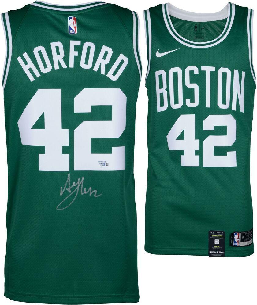 premium selection 669c0 02015 Al Horford Boston Celtics Autographed Green Nike Swingman ...