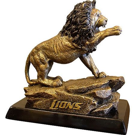 promo code 20583 0ddb0 Detroit Lions Sculpture Statue Available at AllSculptures ...