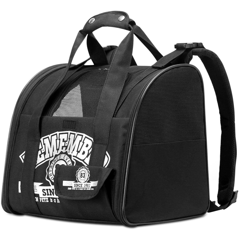 Pawaboo Pet Carrier Backpack Adjustable Handsfree Comfort Pet Cat