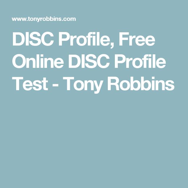 tony robbins disc