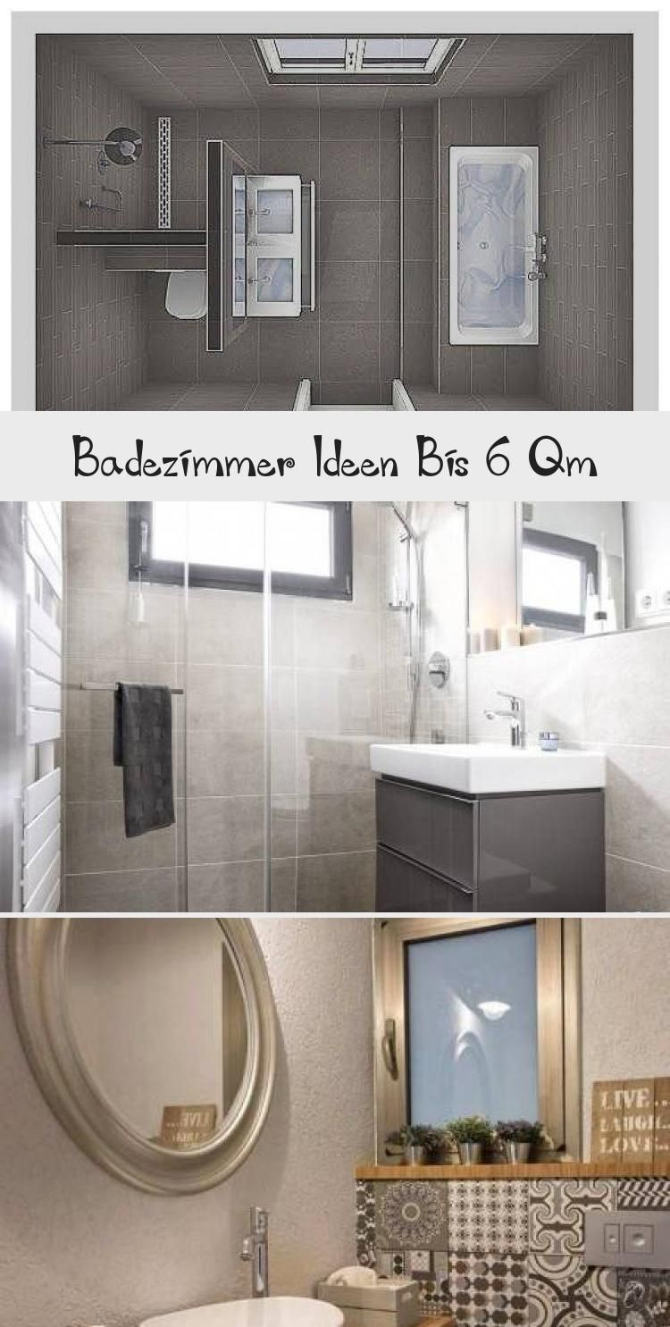 Badezimmer Ideen Bis 6 Qm De In 2020 Bathroom Mirror Framed Bathroom Mirror Decor