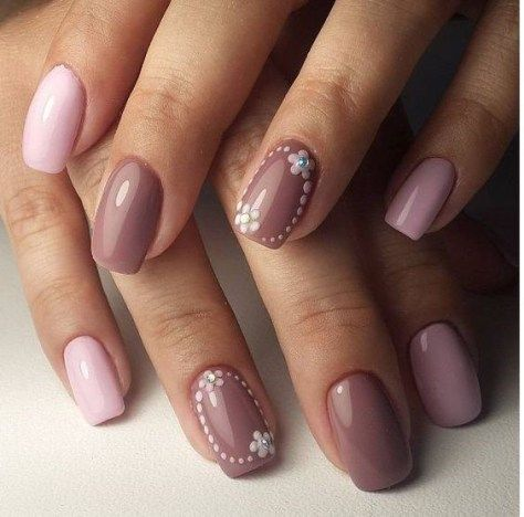 22 Gel Nails Designs And Ideas 2018 Pinterest Short