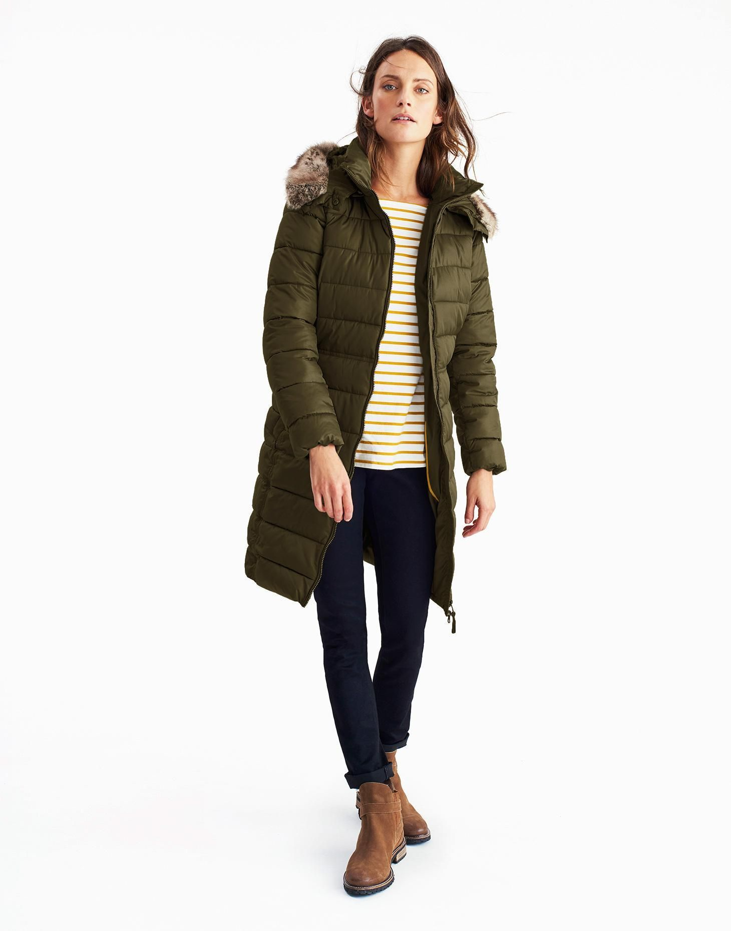 Snowdon Woodland Green Padded Jacket | Joules UK | My style ... : joules green quilted jacket - Adamdwight.com