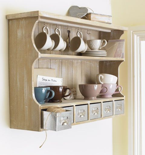 Country Kitchen Wall Unit