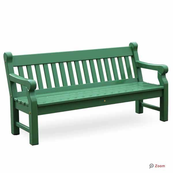 gartenbank grün holz