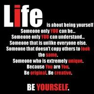 Just be you. Everyone else is already taken. Also, you are fine, just the way you are!
