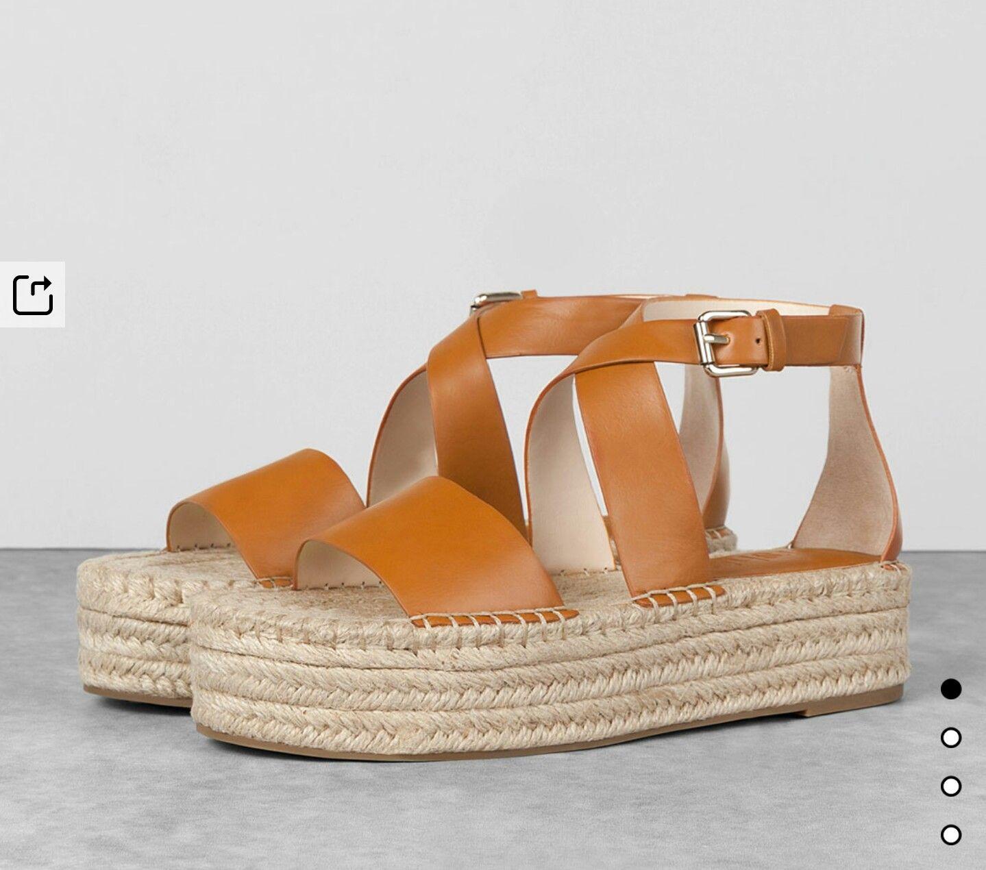 Flatform sandals Bershka spring summer 2016