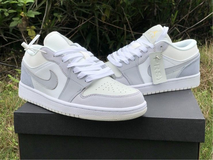 2020 New Air Jordan 1 Low Paris White Sky Grey Cv3043 100 In 2020 Jordan Shoes Girls Nike Air Shoes Everyday Shoes