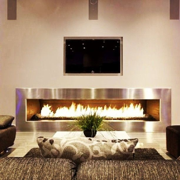 Pin On Fashion And Fashionable People Living room ideas electric fireplace