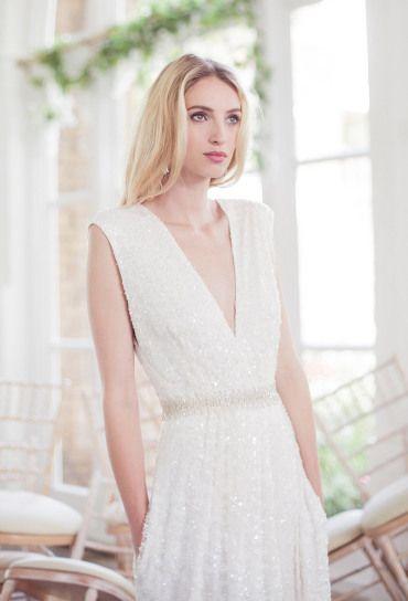 Romántica colección de vestidos de novia de la firma Clinton Lotter ...
