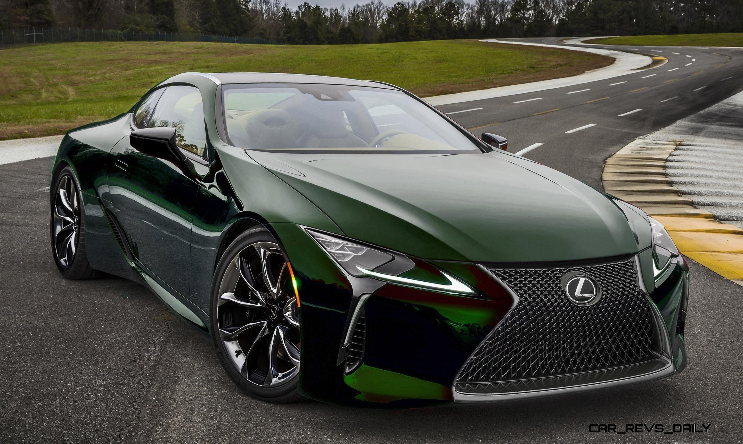 2017 Lexus Lc500 Colors Visualizer 16