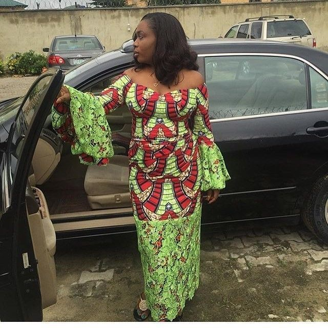 There are a number of ways to make yourself stand out with an Asoebi style, Even if you are contemplating about what to create and slay with an Nigerian Yoruba dress styles. Nigerian Yoruba dress styles for weekends come in many patterns and designs.   The Ankara dress styles beauty of this print is that it comes in many designs and textures. Ankara will allow you make a grant of any cloth without losing the African print styles flair. #nigeriandressstyles There are a number of ways to make your #nigeriandressstyles