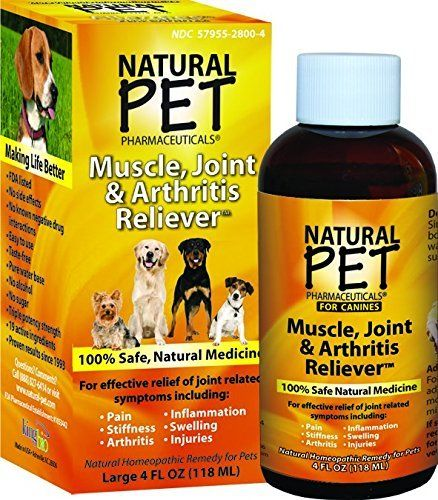 Natural Pet Muscle Joint And Arthritis Reliever Gt Gt Gt Very