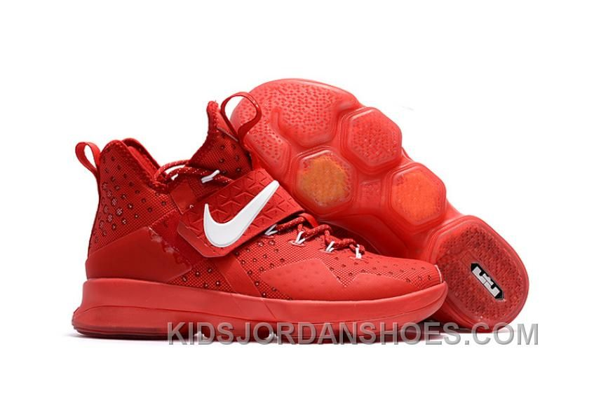 Nike Lebron 14 All Red White TopDeals