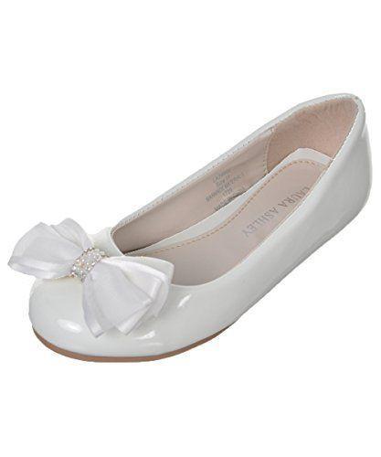 "Laura Ashley Girls' ""Gem Bow"" Flats - white, 12 toddler L... https://www.amazon.com/dp/B01C54EZTK/ref=cm_sw_r_pi_dp_x_M0a6yb485PNM6"