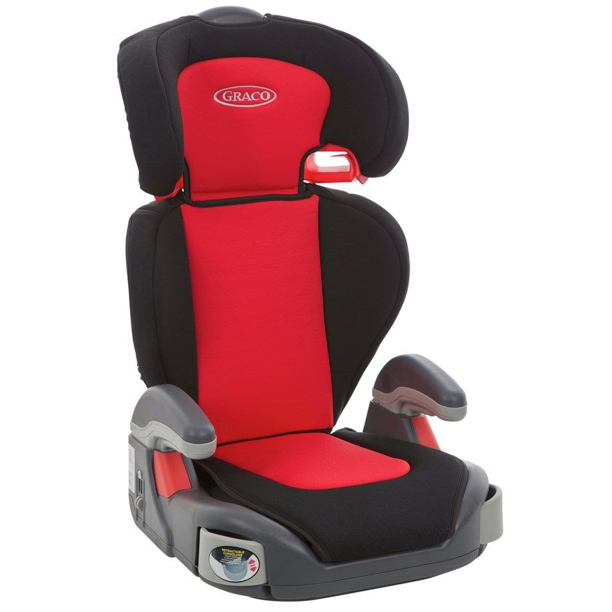 This black and red Graco Junior Maxi Lyon Group 2-3 car seat ...