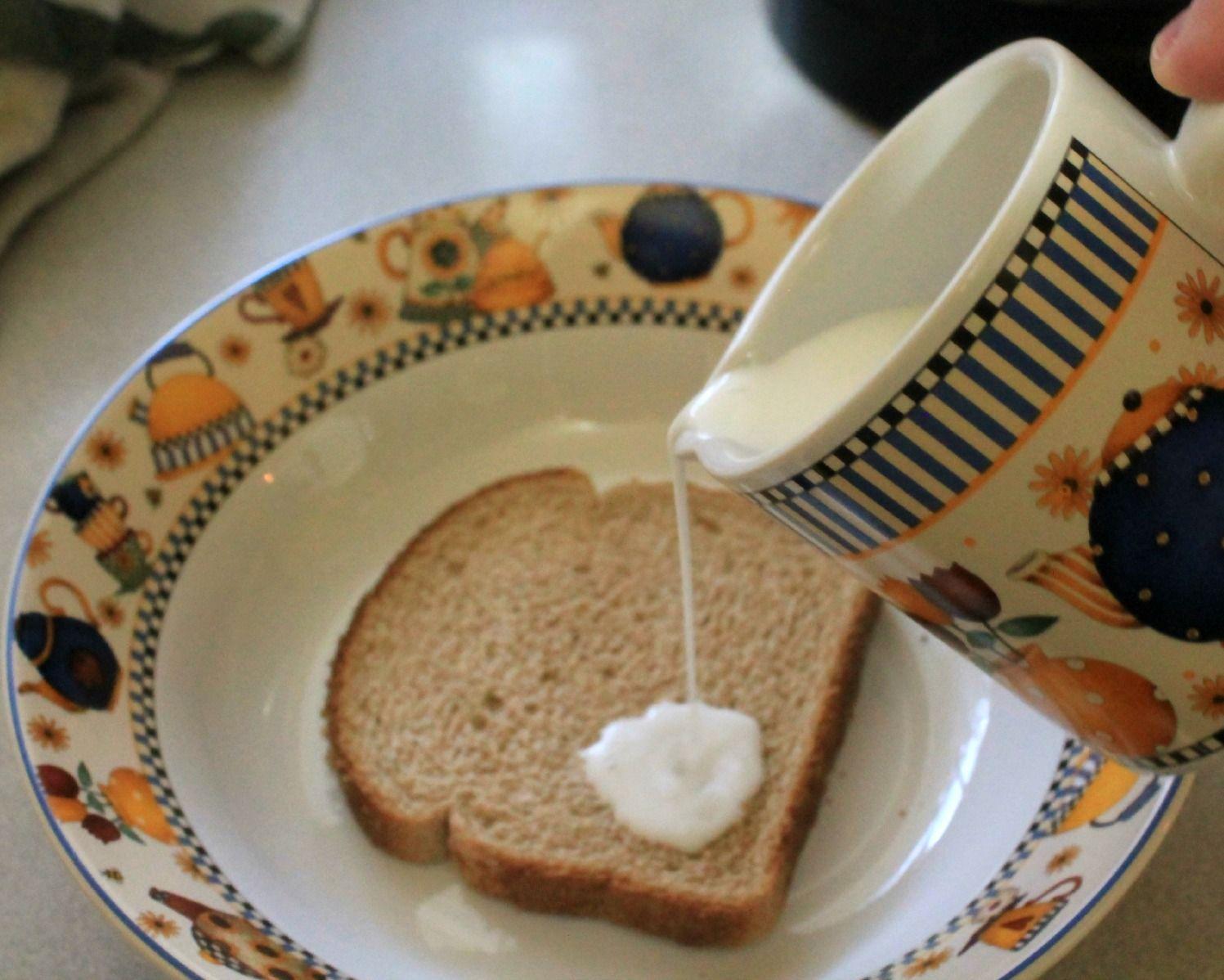 bread and sugar poultice
