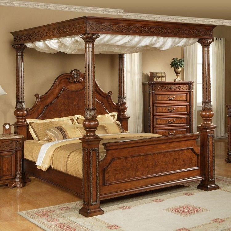 40 Comfy And Vintage Wooden Bed Designs Ideas Bed Design Wooden