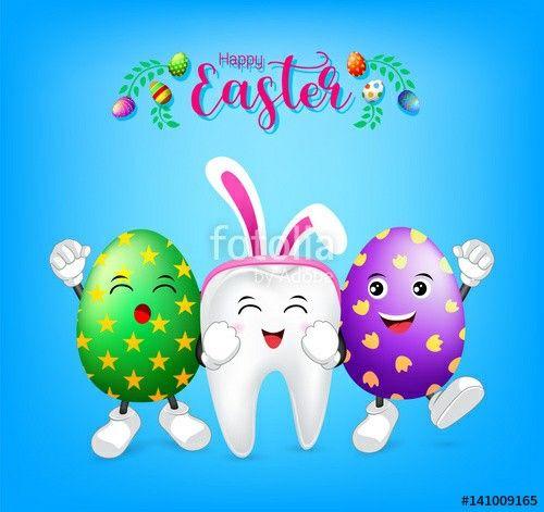 Happy Easter! | Dental | Dental fun facts, Dental, Dental humor