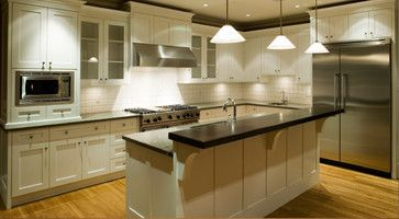Best Houzz Kitchens White Cabinets White Kitchen Cabinets 400 x 300