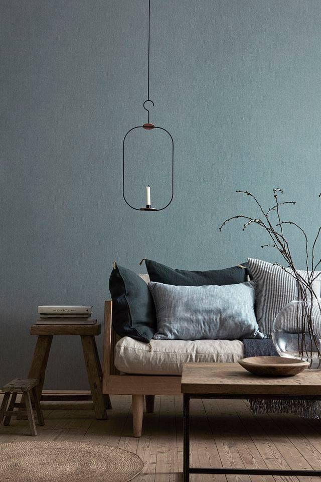 Grijsblauw   Woonkamer   Pinterest   Scandinavian interior design ...