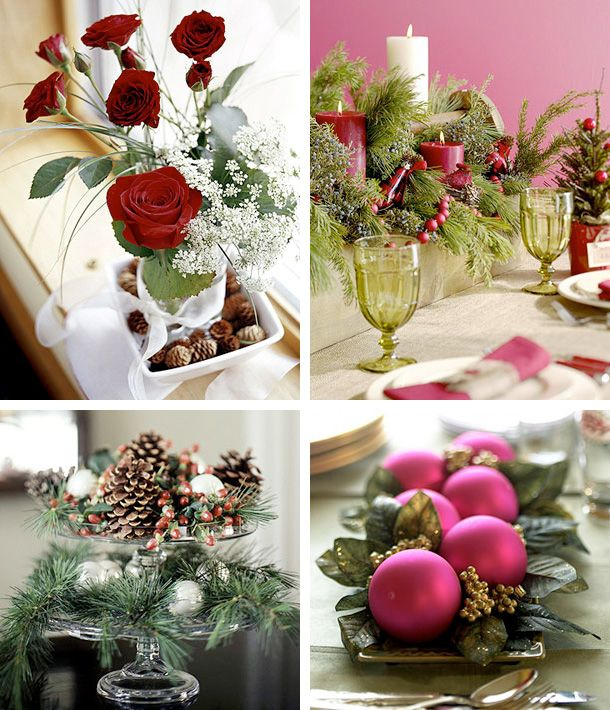 Ideas For Christmas Centerpieces To Make Part - 41: 50 Great U0026 Easy Christmas Centerpiece Ideas