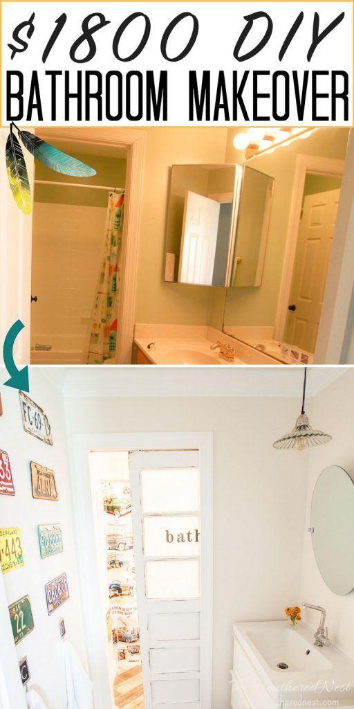 A Budget Of 1800 How Far Could You Take A Bath Overhaul On That Diy Bathroom Diy Bathroom Remodel Diy Bathroom Makeover