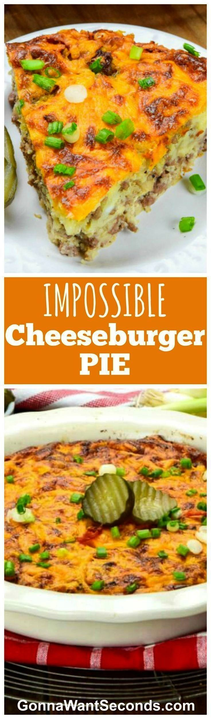 Impossible Cheeseburger Pie  Delicious Recipes and Family Favorite Meals Bisquick Impossible Cheeseburger Pie  Delicious Recipes and Family Favorite Meals  Bisquick Impos...