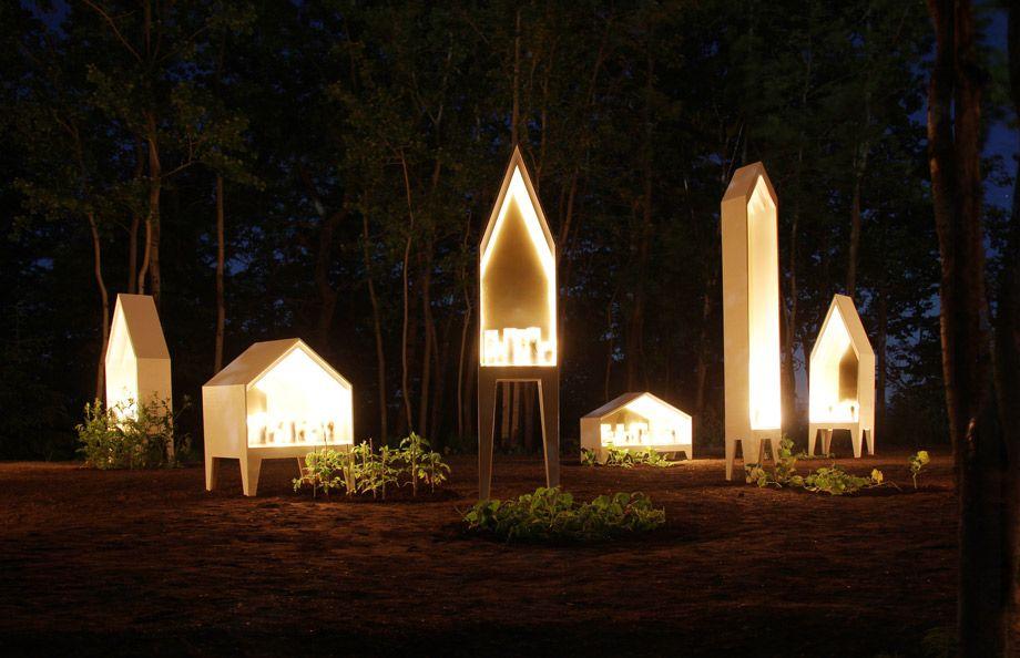A winning garden design by Atelier Barda for the 14th International Garden Festival in Métis, Quebec.