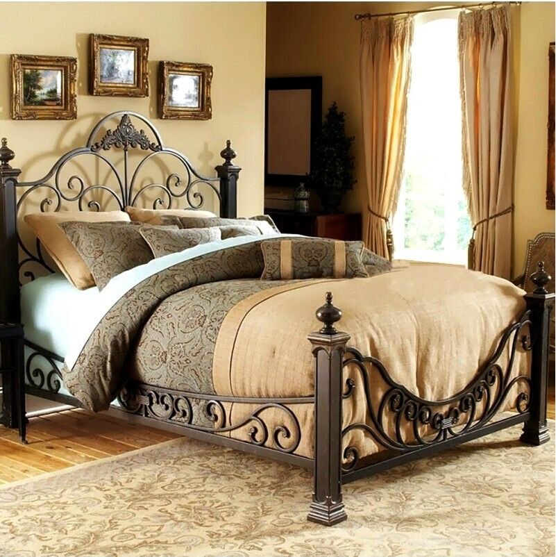Iron Bed European High Grade 1 5 2m Double Matrimonial Bed