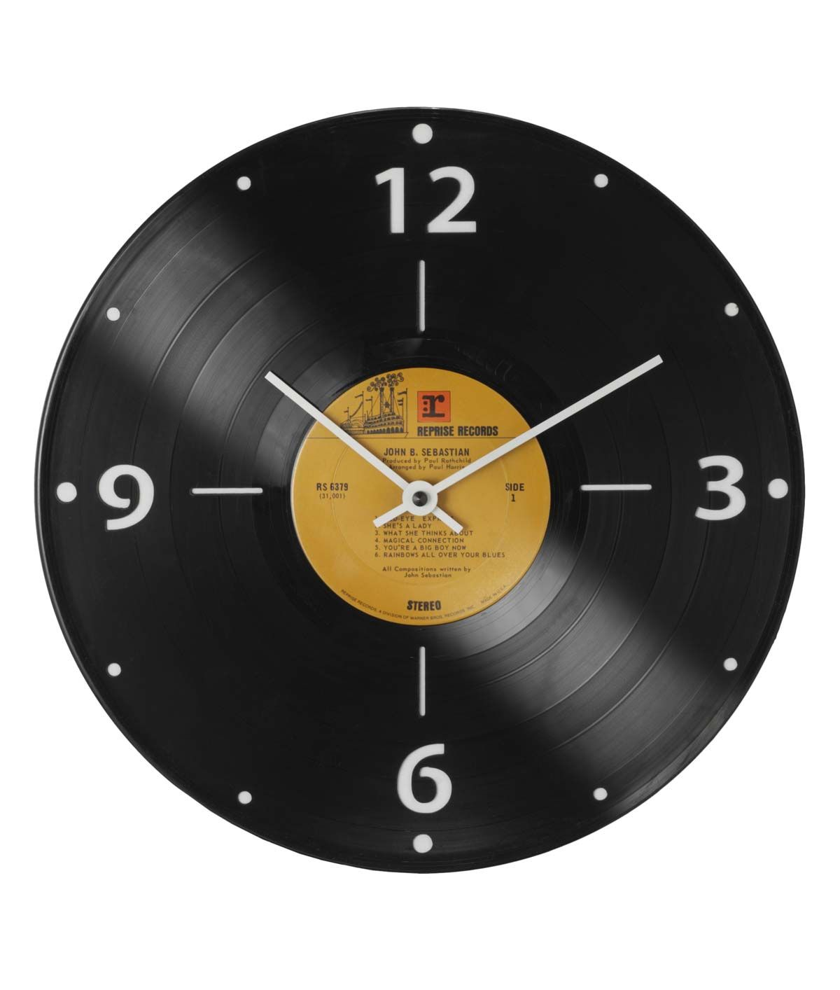 Discos De Vinilo Baratos Para Decorar Record Clock | Deco 70 | Relojes De Pared, Reloj Reciclado