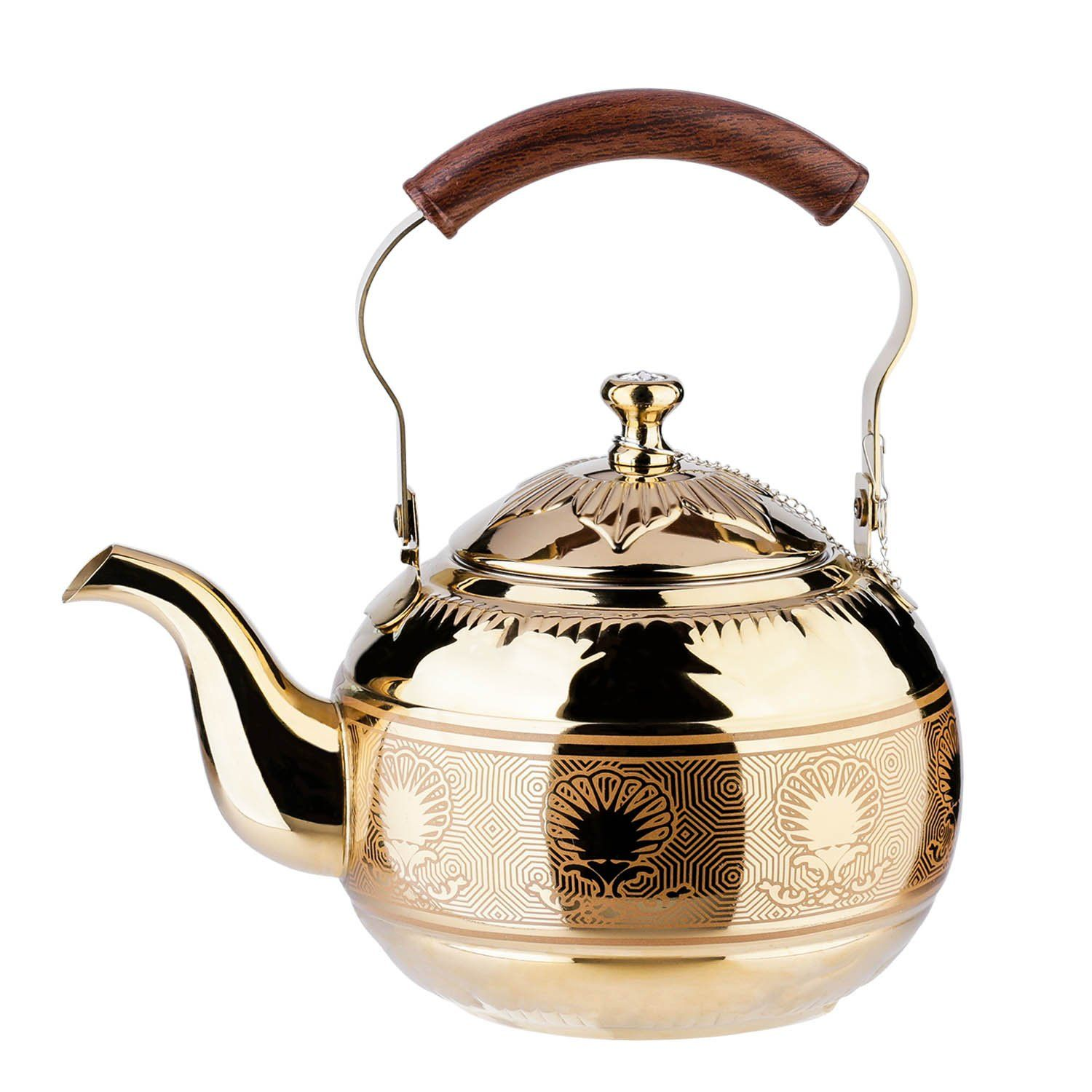 how to brew loose leaf tea in a teapot