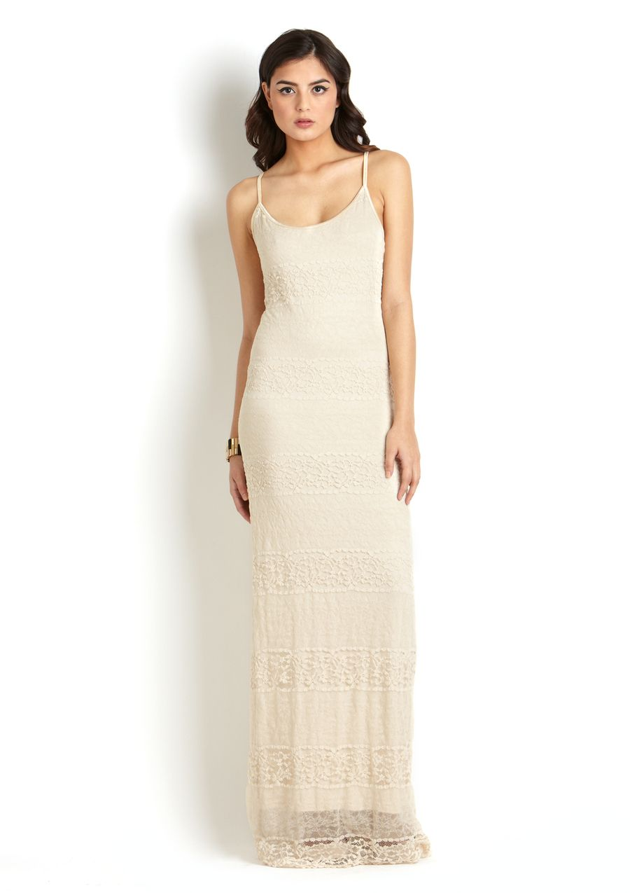 Best dress to wear to a garden wedding  Too creamylongweddingy for Cait to wear under that peach blouse