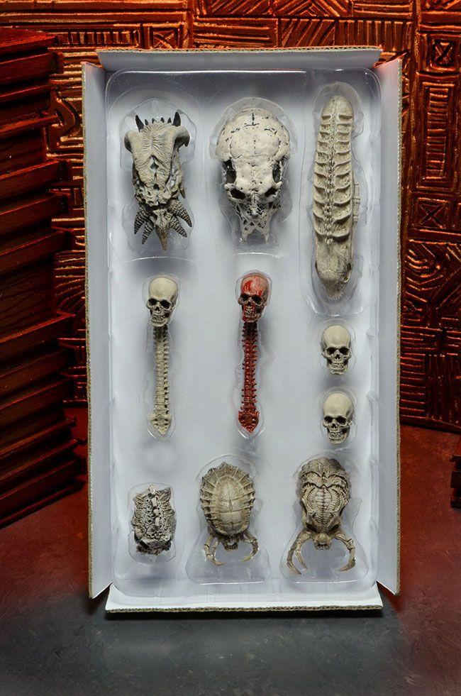 Aliens Predator 2 Statue Triumphant Limited Edition Boxed Predator Holding Skull Collectibles